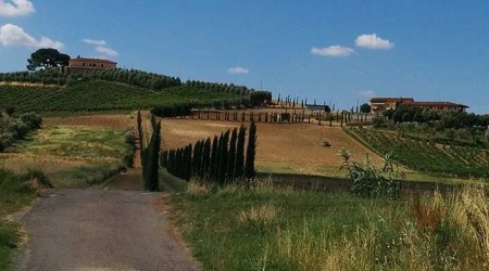 Dovolenka s cestným bicyklom v Talianskej provincií Toskánsko