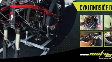 Váš bicykel v bezpečí Vášho auta