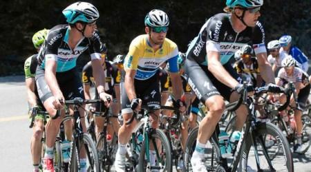 Okolo Kalifornie: Sagan opäť bojoval o triumf, Cavendish chválil Martina Velitsa