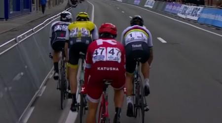 Víťazný finiš Petra Sagana na flámskej klasike Gent-Wevelgem