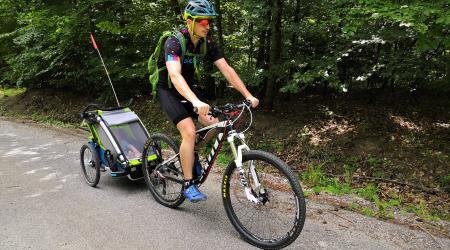 Tip na výlet: S cyklovozíkom v okolí Trenčína - užili sme si to celá rodina