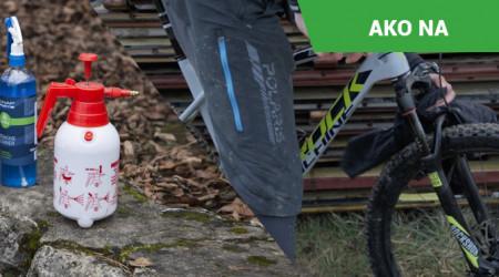 Video: Rýchle očistenie bicykla pred transportom