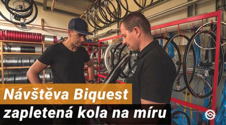 Video: Návšteva Biquest - zapletená kola na míru