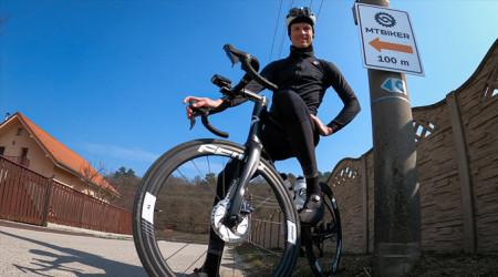 Video: Na bicykli do MTBIKER centra - do Hrádku bez áut