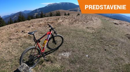 Video: Jazdenie v okolí Donovál - jedna z najkrajších cyklotrás
