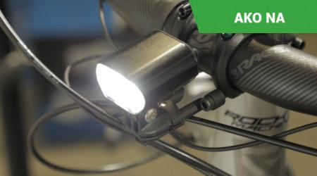 Video: Integrované svetlo pre elektrobicykle