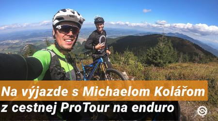 Video: Na výjazde s Michaelom Kolářom - z cestnej ProTour na enduro