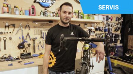Video: Starostlivosť o brzdy a výmena špalíkov na cestnom bicykli