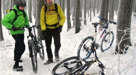 Zimný výjazd na Záruby v Malých Karpatoch