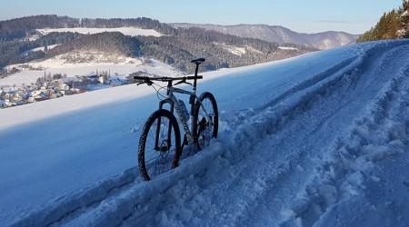 Bikovanie v zime - malé zhrnutie