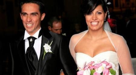 Alberto Contador sa oženil
