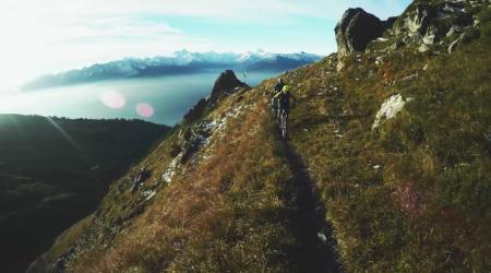 V Alpách sa jazdí za každého počasia