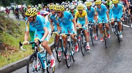 Cyklistický tím Astana, za ktorý jazdí aj víťaz Tour de France Nibali, zatiaľ nedostal po dopingových prípadoch licenciu ProTour