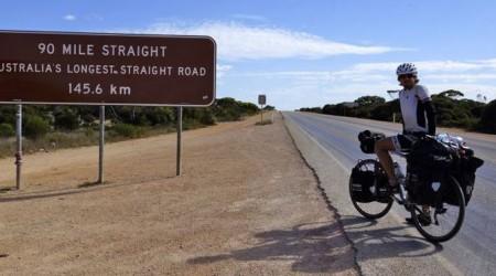 Austrália na ceste okolo sveta na bicykli