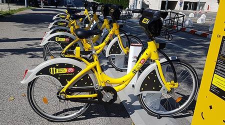 Bratislavské bicykle – nový bikesharing