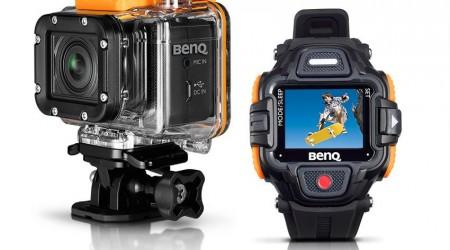 BenQ SP2 - nová akčná kamera s diaľkovým ovládaním na hodinkách