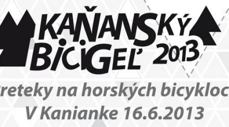 Kaňanský bicigeľ 2013