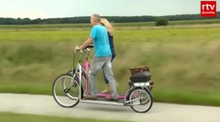 Hádanka: Namiesto šliapania kráčanie a aj tak je to bikovanie. Čo a hlavne ako je to možné?