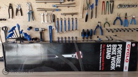 Test: Montážny stojan Cyclo Tools - ideálna voľba na domáci i profesionálny servis