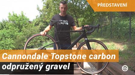 Video: Cannondale Topstone carbon - odpružený gravel