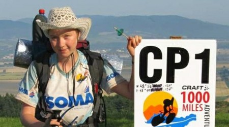 18 ročná Bára a jej príbeh z ultramaratónu Craft 1000 Miles Adventure 2013
