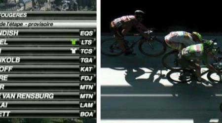 Mark Cavendish vyhral šprintérsku koncovku v 7. etape a Peter Sagan finišoval na 3. mieste opäť za Greipelom