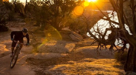 Prázdne cestičky v púšti