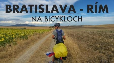 Video: Bratislava - Rím na bicykloch