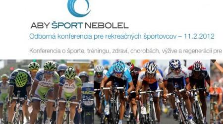 Aby šport nebolel 2012
