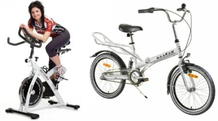 Skladacie bicykle acyklotrenažéry, nie sú len pre vášnivých milovníkov cyklistiky