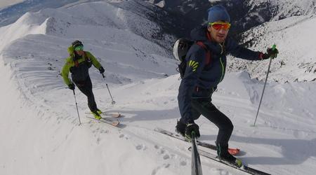 Jakub Šiarnik - 2 700 výškových metrov s majstrom Slovenska v skialpinizme