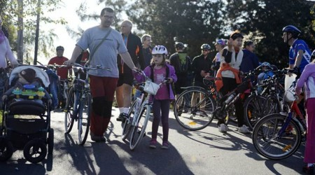 Cyklotrasu JURAVA otvorili slávnostnou cyklojazdou