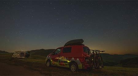 """Tip na výlet: Po Slovensku s minikaravanom alebo aký je """"vanlife"""" s bicyklami"""
