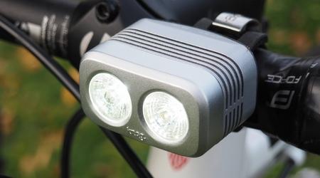 Test: KNOG Blinder ROAD 400 aR70 -  vydarené svetlá pre váš cestný bicykel