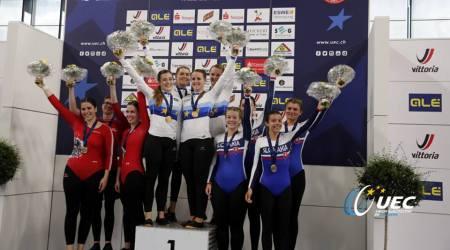 Sálová cyklistika - slovenské krasojazdkyne získali bronzovú medailu na ME