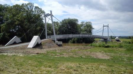 Otvorenie cyklistickej lávky cez rieku Hornád