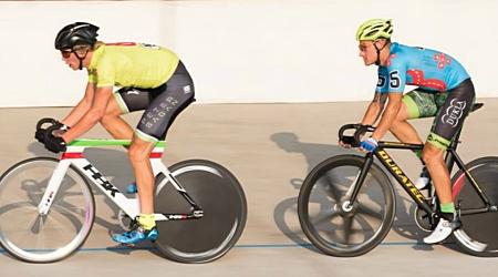 Dráhar Junior Michalička zvíťazil nad elitnými cyklistami zvučných mien