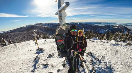 Zimný Minčol a turistika s dieťaťom aj ako skvelý tréning