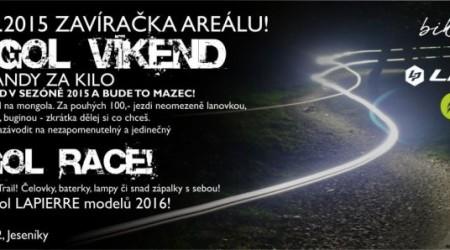 Vyvrcholenie letnej sezóny v bikeparku Kopřivná pod Pradědem