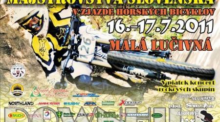 MSR MTB DH 2011 a 3. kolo SPDH 2011 - Malá Lučivná