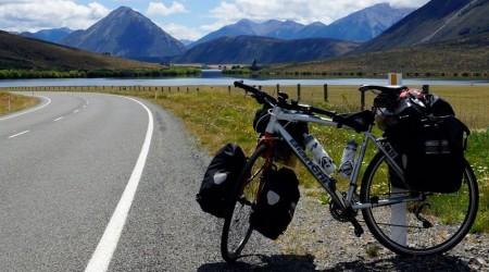 Nový Zéland cestou okolo sveta na biku
