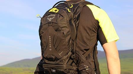Test: Osprey Raptor 10 – praktický batoh arezervoár k tomu