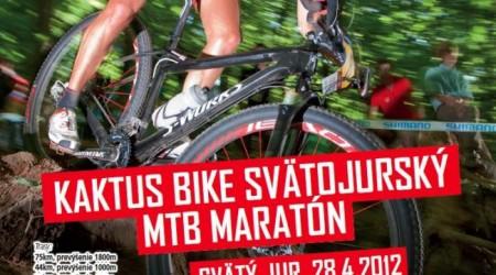 Kaktus bike Svätojurský MTB maratón 2012