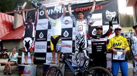 Na Downhil Conteste vo Wisle víťazne Filip Polc