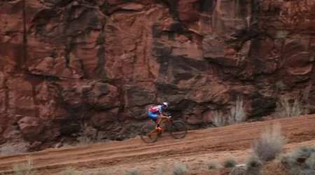 Video: Pokus o rekord na legendárnom White Rim MTB Trail