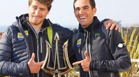 Fantastická reakcia Petra Sagana na šmyknutie v zákrute na Tirreno-Adriatico