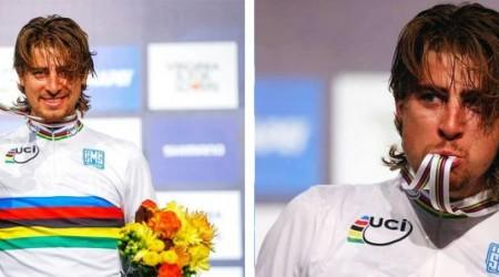 Reakcie cyklistických osobností, tímov a médií na víťazstvo Petra Sagana v pretekoch