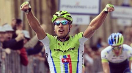 Sagan lídrom bodovacej súťaže na Tirreno - Adriatico