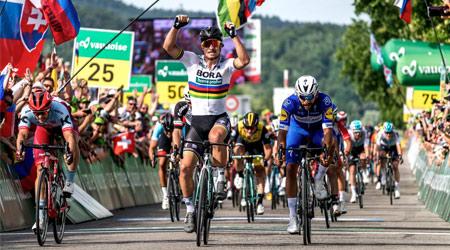 Sagan zvíťazil v 2. etape na Okolo Švajčiarska