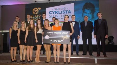 Zlatý pedál 2016 pre Petra Sagana